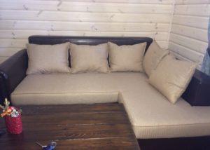 Производство диванов.