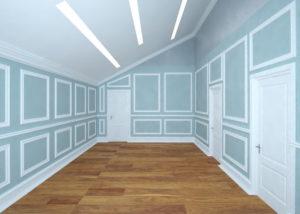 Дизайн-проект интерьера - Комната