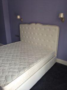 Производство кровати.