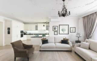Оформление гостиной. Интерьерные решения