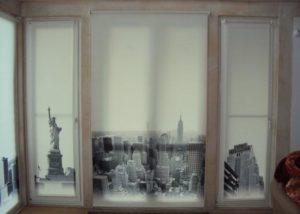 Рулонные шторы-жалюзи с фотопечатью