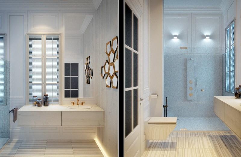 Дизайн-проект интерьера - Туалет