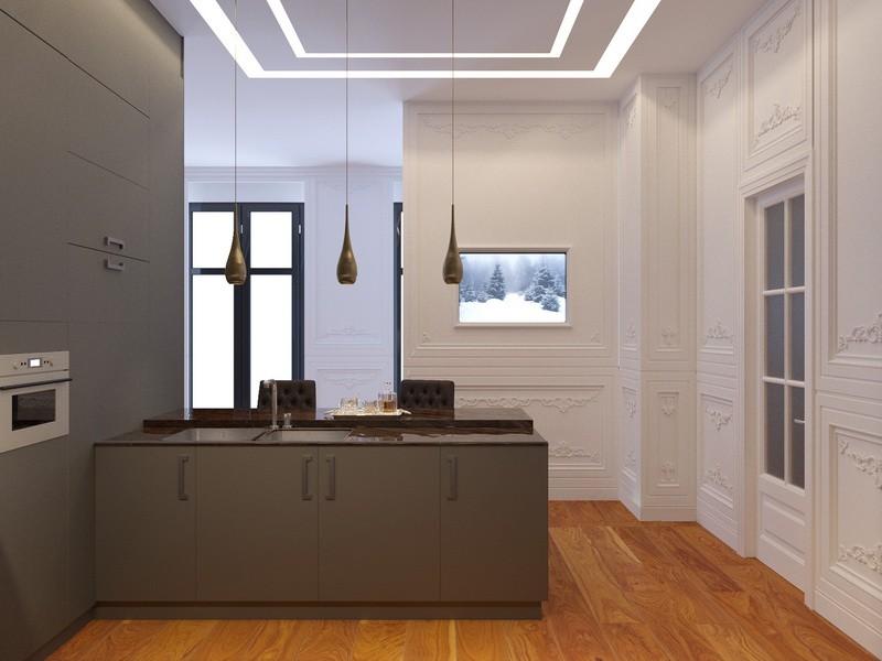 Дизайн-проект интерьера - Кухня