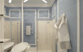 Дизайн-проект интерьера - Детский туалет