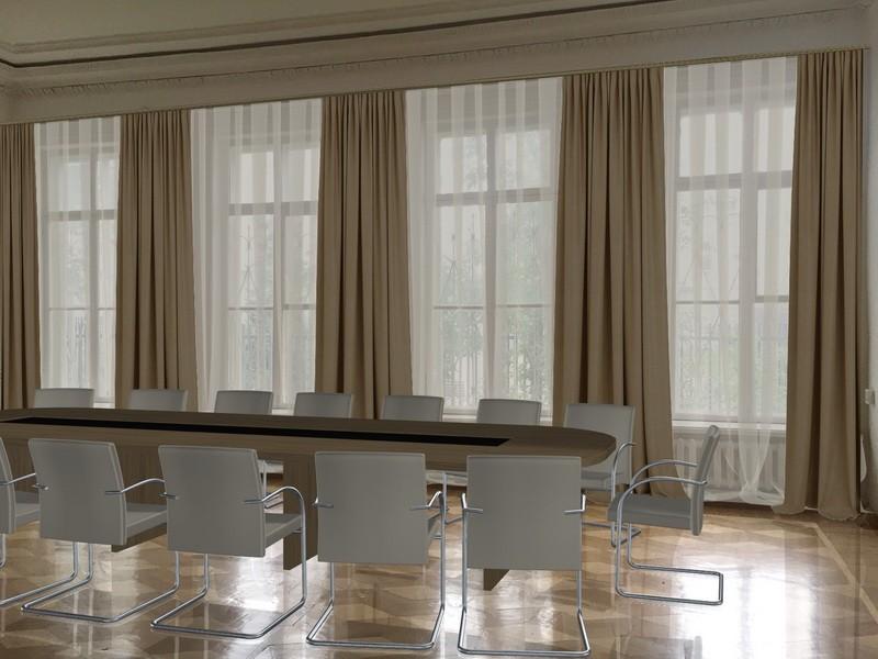 Варианты оформления переговорных (шторы, мебель) (2)