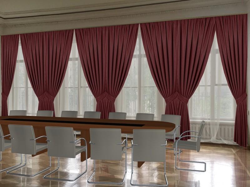 Варианты оформления переговорных (шторы, мебель) (3)