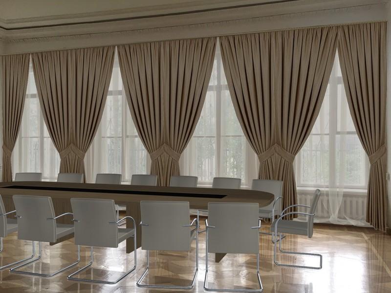 Варианты оформления переговорных (шторы, мебель) (4)