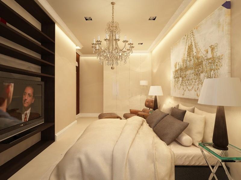 Дизайн-проект интерьера - Спальня