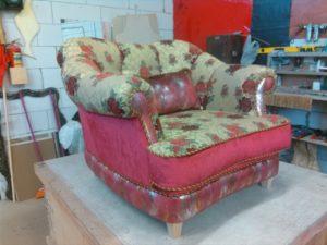 Переобивка мебели