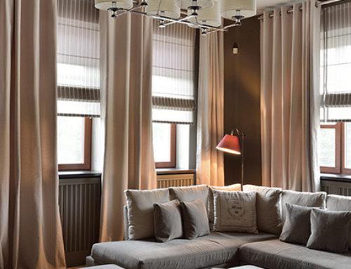 Чем отличаются портьеры от штор?
