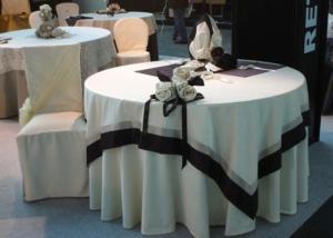 Пошив скатерти и чехлов для ресторана