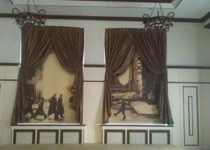 Рулонные шторы-жалюзи