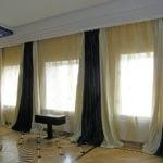 Пошив штор для гостиной, загородного дома.