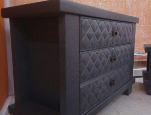 Обивка деревянной мебели тканью