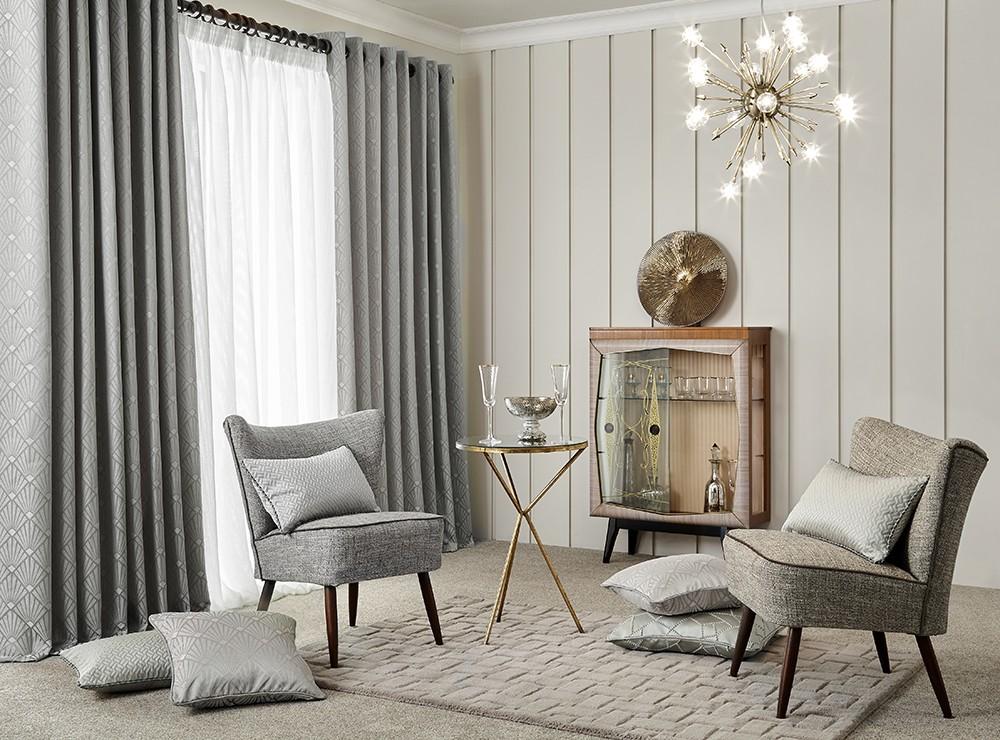 Пошив штор и декоративных подушек