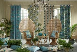 Пошив штор, покрывало и декоративных подушек.