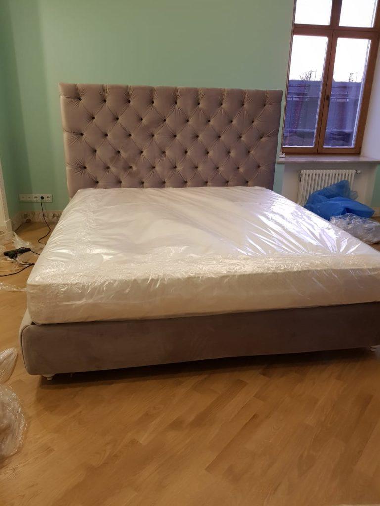 Производство мягкой мебели, кровать corona.ru