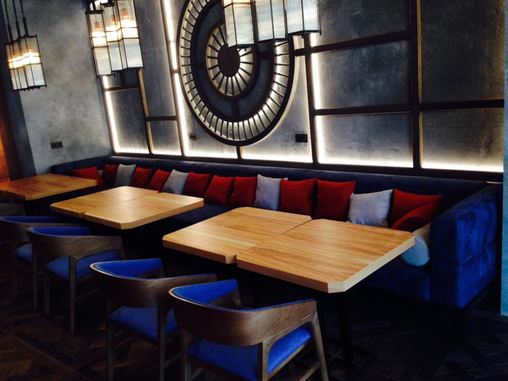 Мебель для ресторанов, баров, кафе.