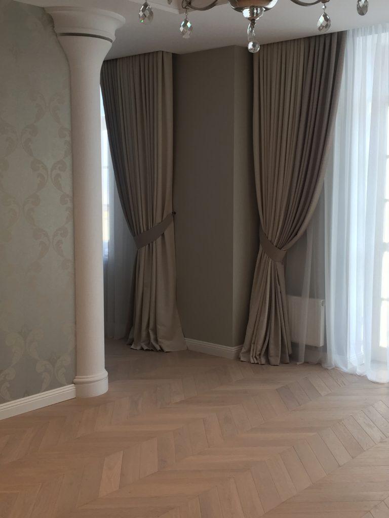 Пошив штор на заказ для дома