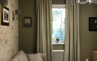 Пошив штор на заказ для кабинета