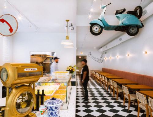 Аутентичный паста-бар Tortello в Чикаго