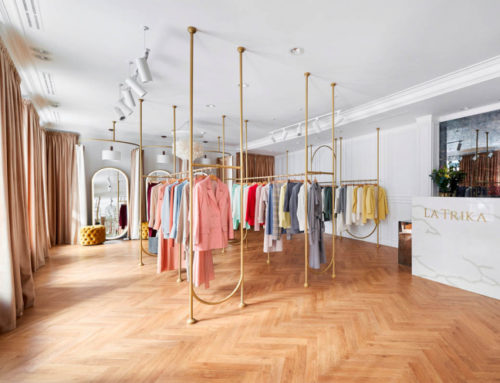 Элегантный бутик в Санкт-Петербурге
