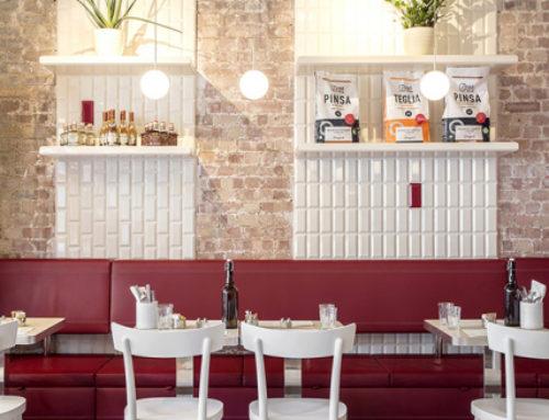 Итальянский ресторан Latteria в Лондоне