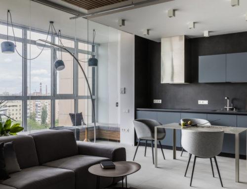 Лаконичная квартира 100 м² в Ростове-на-Дону