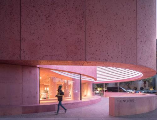Флагманский магазин The Webster по проекту Дэвида Аджайе