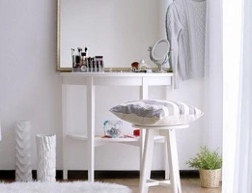 Как сделать туалетный столик своими руками: инструкция для 4 вариантов