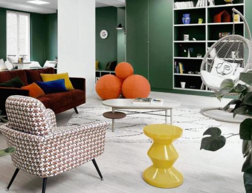 Уютный офис Google в Париже