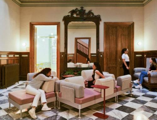 Яркое студенческое общежитие в Гранаде
