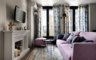 Уютная маленькая квартира 55 м² в Киеве