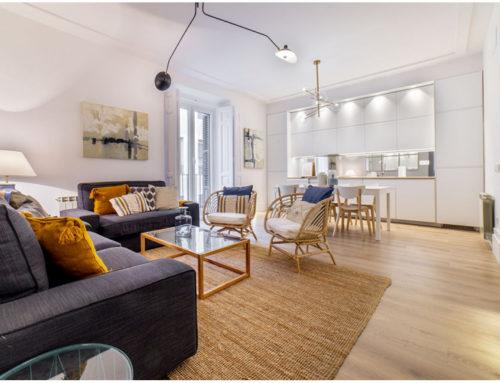 Современная квартира в престижном квартале Мадрида